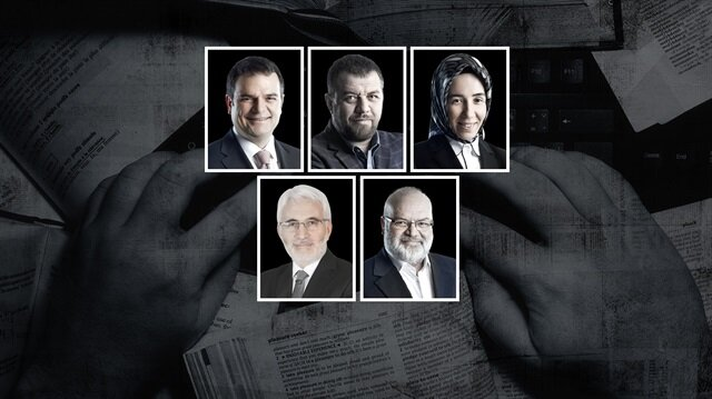 Kemal Öztürk, İsmail Kılıçarslan, Hatice Karahan, Hasan Öztürk ve Ömer Lekesiz.