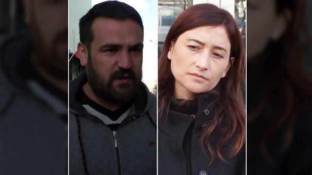 Şehit Musa Özalkan'a haciz işlemi başlatan avukat Emine Gün ile davacı Serkan Saçan