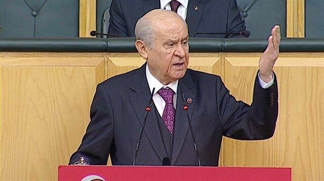 Devlet Bahçeli HDP kongresindeki rezalete böyle tepki gösterdi