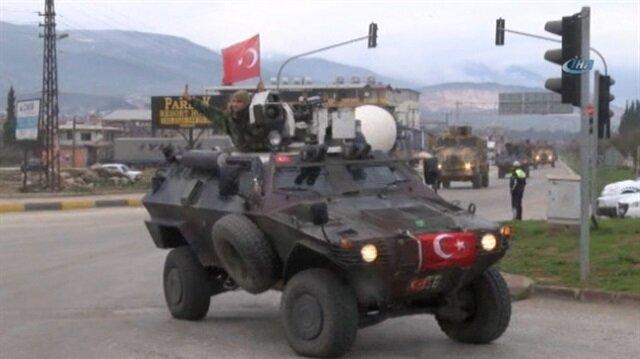 Gendarmerie Special Forces join Turkey's Afrin op