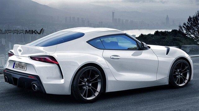 Yeni Supra'nın konsept tasarımı.