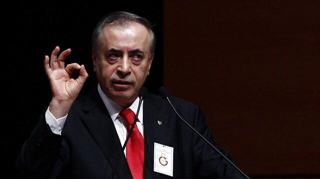 Galataasaray Başkanı Mustafa Cengiz.