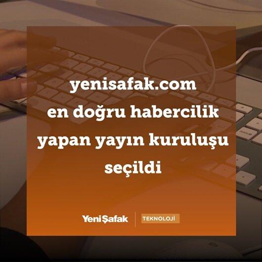 yenisafak.com en doğru habercilik yapan yayın kuruluşu seçildi
