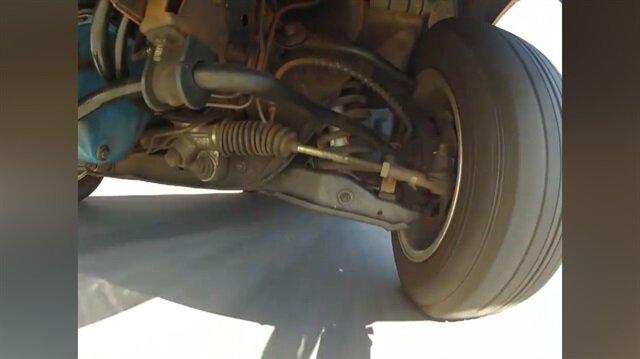 Direksiyon çevrildiğinde arabanın altında neler oluyor?