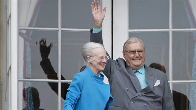 Danimarka Kraliçesi 2. Margrethe ve Prens Henrik