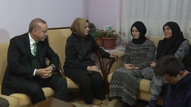 Şehit annesinden Cumhurbaşkanı Erdoğan'a duygulandıran sözler