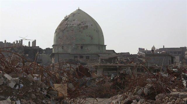 Musul'daki çatışmalarda şehrin tamamı neredeyse harabeye döndü