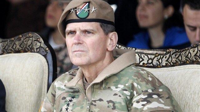 PKK destekçisi ABD'li Komutan Votel Erbil'de