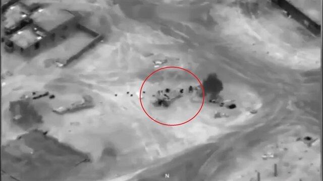 ABD, Suriye'de Rus birliklerini böyle vurdu