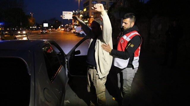 İstanbul'da 39 ilçede 2 bin polisle 'Yeditepe Huzur' uygulaması
