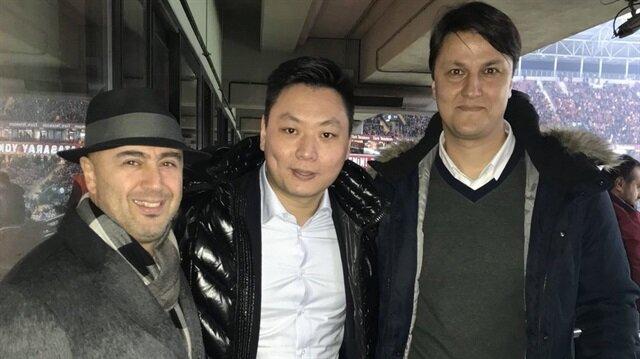 Milan başkanı David Han Li, Galatasaray-Antalyaspor maçını Türk Telekom Stadı'nda takip etmişti.