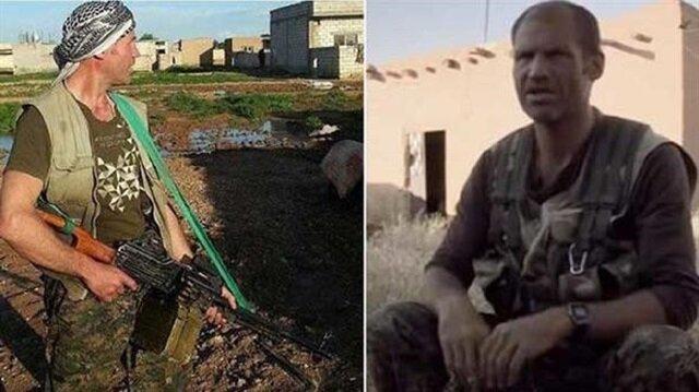 Terör örgütü PYD/PKK saflarına katılan terörist Jim Matthews