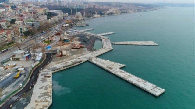 Martı Projesi havadan görüntülendi