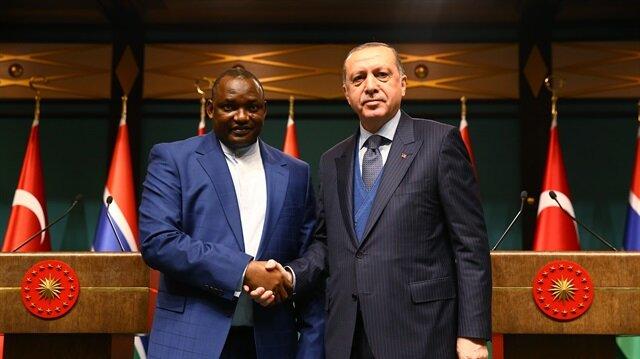 Arşiv: Cumhurbaşkanı Recep Tayyip Erdoğan ve Gambiya Cumhurbaşkanı Adama Barrow