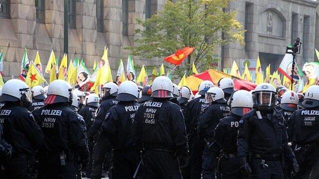 Berlin'den PKK/PYD gösterilerine yasak