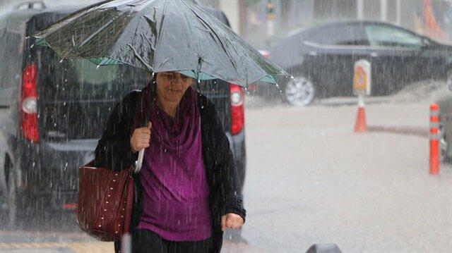 Meteorolojiden Muğla için kuvvetli yağış uyarısı yapıldı.