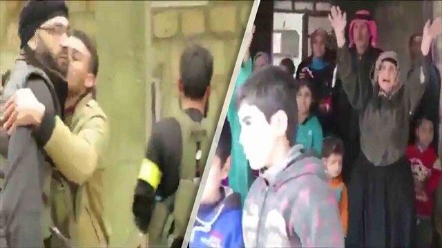 PYD/PKK'dan arındırılan köyde halktan zılgıtlı kutlama