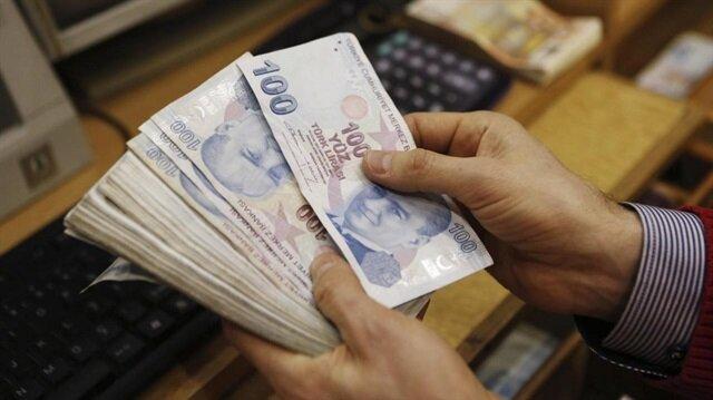 Bankacılık sektörünün kredi hacmi arttı.