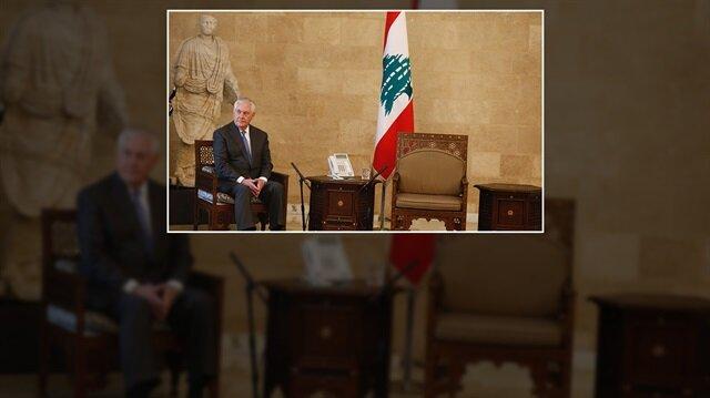Tillerson Lübnan'da rezil oldu