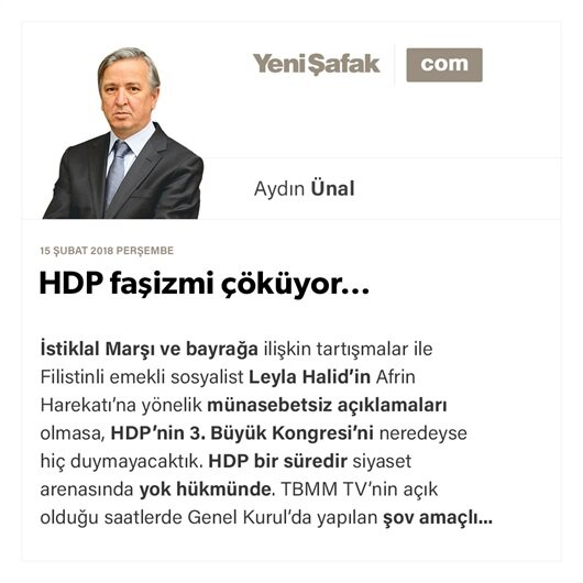 HDP faşizmi çöküyor…