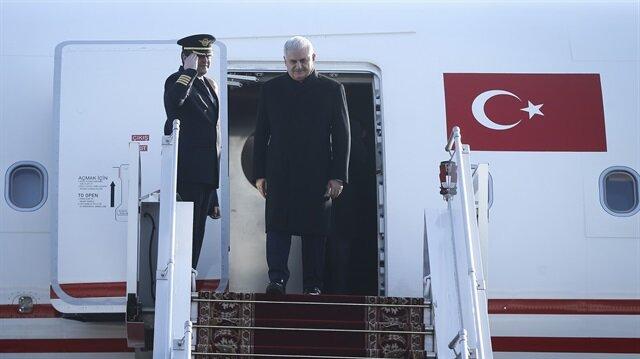 Başbakan Yıldırım Münih'e gitti.