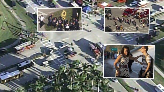 ABD'nin Florida eyaletinde bir lisede gerçekleştirilen silahlı saldırı 17 kişi hayatını kaybetti.