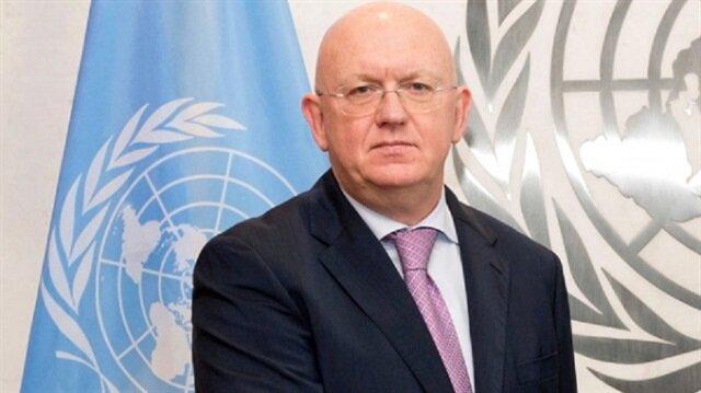 Rusya'nın Birleşmiş Milletler (BM) Daimi Temsilcisi Vassily Nebenzia