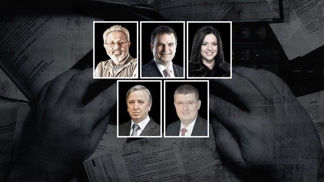 Zekeriya Kurşun, Kemal Öztürk, Merve Şebnem Oruç, Aydın Ünal ve Mehmet Acet.
