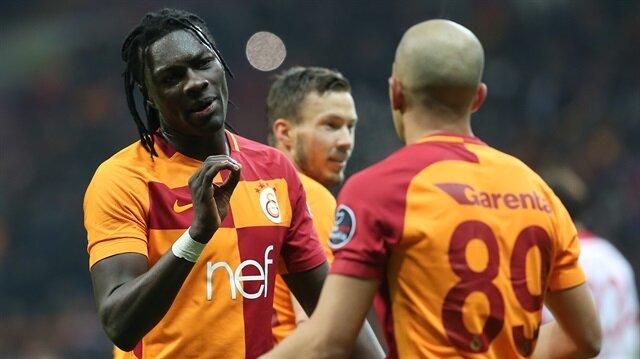 Galatasaray'ın Fransız yıldızı Bafetimbi Gomis, 20 Süper Lig maçında 17 gole imza attı.