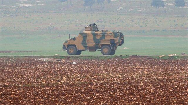 TSK unsurları, İdlib'de yeni ateşkes gözlem noktası kuruyor...