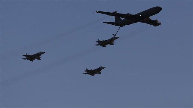 Esed rejimi İsrail uçaklarına müdahale etti