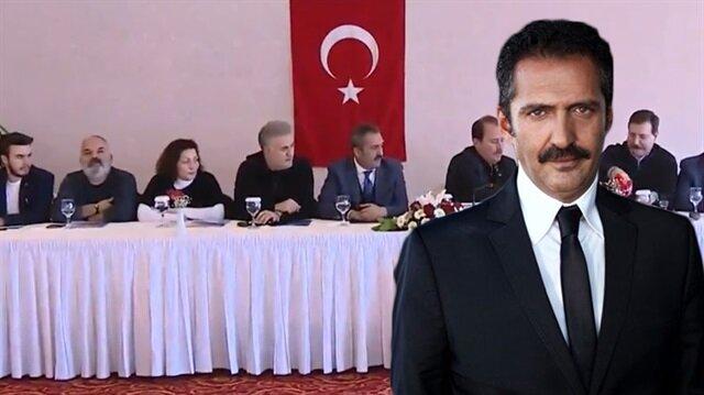 Ünlü isimler Mehmetçik'e destek olmak için Hatay'a gitti.
