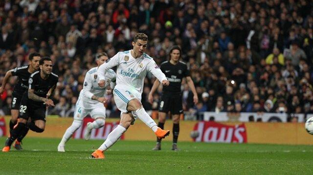 Ronaldo, Paris Saint Germain'e attığı gollerle bir takımda UEFA Şampiyonlar Ligi'nde 100 golü geçen ilk futbolcu oldu.