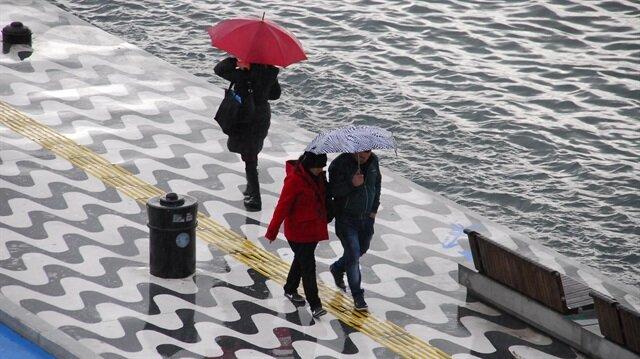 Meteorolojiden kuvvetli yağış uyarısı yapıldı.