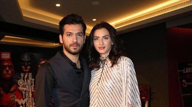 الفنان مراد يلدريم وزوجته إيمان الباني ينتظران حدثا سعيدا