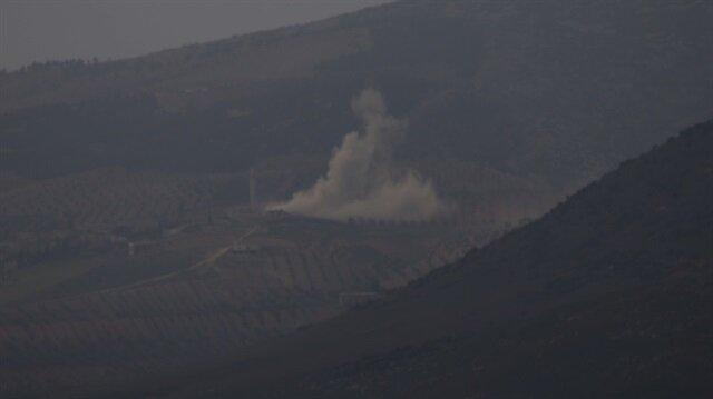 TSK Afrin'deki terör hedeflerini vuruyor