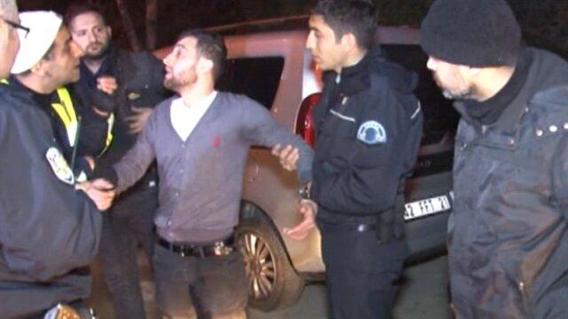 Polisten kaçtı yakalanınca bakın kendini nasıl savundu!