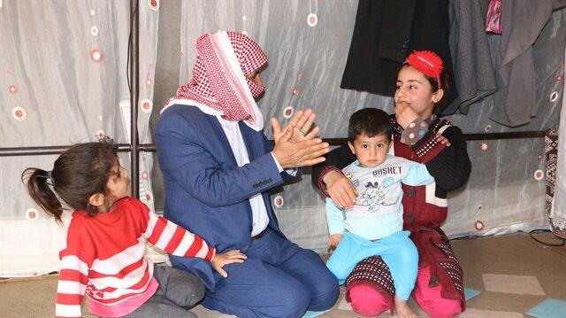 لاجئ سوري: