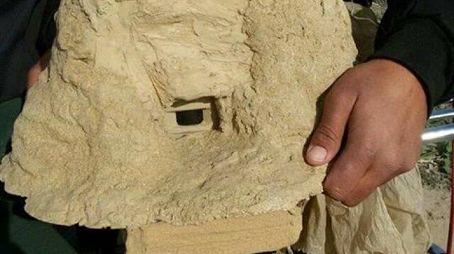 العثور على كاميرا تجسس في غزة على شكل صخرة (صور)
