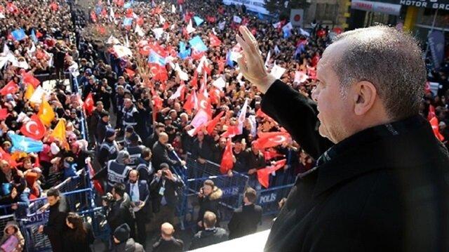 أردوغان: تمكنّا من تطهير 300 كم مربع في عفرين وقريبون من النصر
