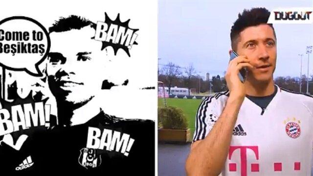 Pepe ile Lewandowski'nin telefon görüşmesi yayınlandı