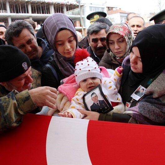 Afrin şehidinin kızı herkesi ağlattı