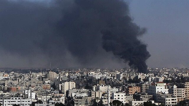 Israeli fighter jets raid Hamas in Gaza