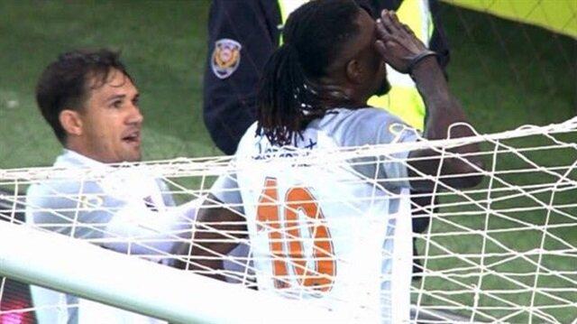 Adebayor golü attı Trabzonlu taraftarlar alkışladı
