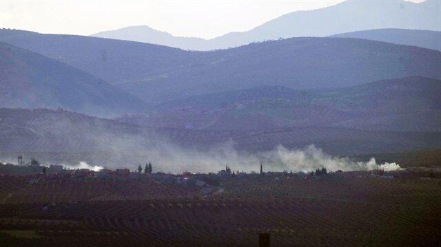 PKK mevzileri havadan ve karadan bombalandı