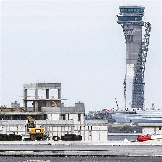 3. Havalimanı<br>45 saatte taşınacak