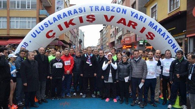 Trabzonlular Şehit Eren Bülbül için koştu