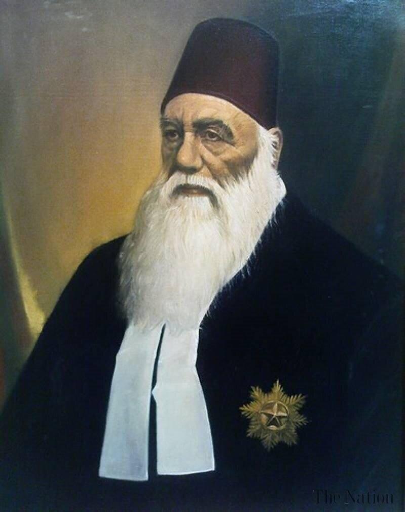 Aligarh'ın kurucusu Sir Seyyid Ahmed Han