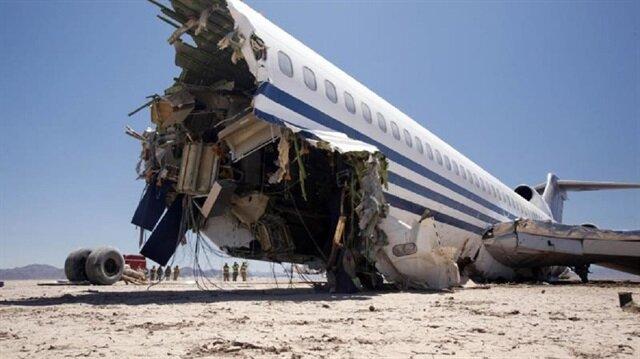 إيران تصل إلى حطام الطائرة المنكوبة