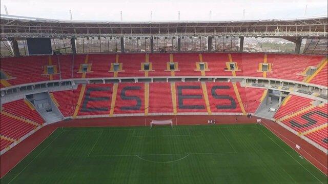 Eskişehirspor'un stat ismi Erdoğan'dan